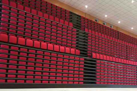 Telescopic Bleachers Seating Project in Spain