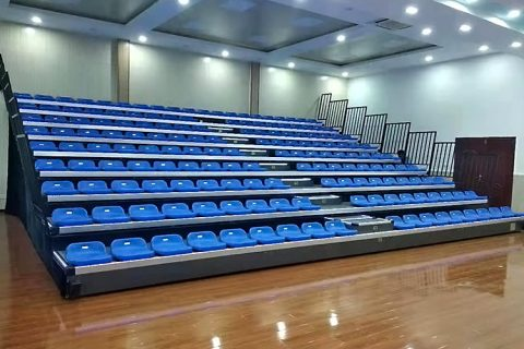 Kuwait Project – Telescopic Grandstand Seating System JY-706